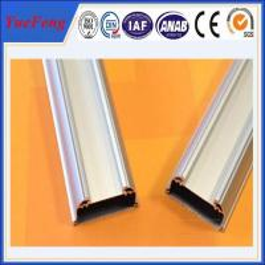 Quality New!Led aluminum extrusion,silver white aluminium tubes anodized,led strips shenzhen for sale