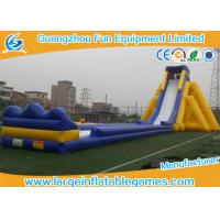 Quality Commercial Grade Inflatable Slides / Large Inflatable Slide / Giant Inflatable Pool Slide For Child Or Adults for sale