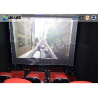 Quality Electronic System Motion Theater Seats Equip Snow Rain Bubble Lightning ETC for sale