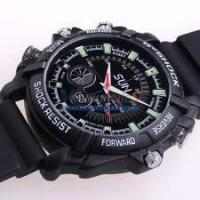 Quality Newest 1080P waterproof spy camera watch DVR W1000 4GB/8GB/16GB for sale