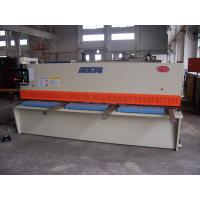Steel Plate Shearing Machine With CE And ISO Certificate , Shear Cutting Machine