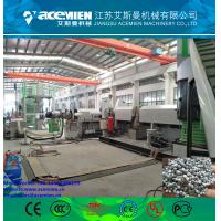 Quality Plastic extrusion double-stage pelletizing line/ granulation line of polystyrene for sale