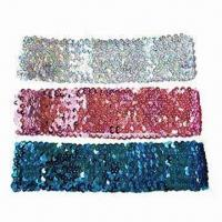 Quality Sequin Headband/Bath Accessories, Various Styles are Available for sale