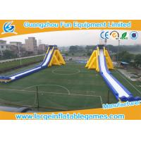 Quality PVC Material Commercial Large Inflatable Dry Slide With Print For Adult Kids for sale