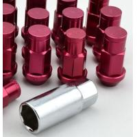 Quality 60 Degree Conical Style Seat Racing Lug Nuts For Rsx Si Civic Ek , Lockable Lug Nuts for sale