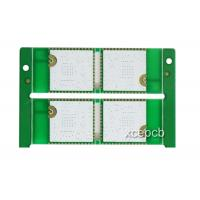 Quality Half Hole HDI Rogers PCB Ro3003 Multilayer Circuit Board Fabrication Green or White for sale