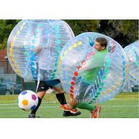 Quality Camping Bubble Ball Game Human Inflatable Zorb Ball Bumper Soccer for sale