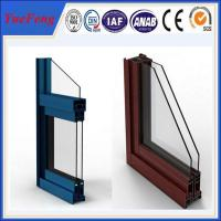 Quality China aluminium factory,powder coating aluminium sliding window/aluminum window profiles for sale
