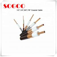 Quality Coaxial Cable 1/2 3/4 7/8 RF Feeder Cable For Telecom RoHS Approval for sale