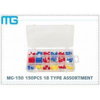 Quality MG - 150 Customized Wire Terminal Assortment Kit 18 Types Terminals / Disconnects With PO Box for sale