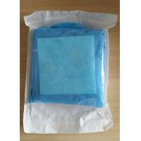 Quality SMS Sterile Surgical Gown Reinforced Drape with Two Towels for sale