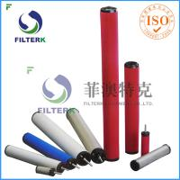 Quality K145 Series Air Compressor Filter Cartridge , Domnick Hunter Air Compressor Air Intake Filter for sale