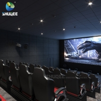Buy cheap Red 5d Synthetic Leather Theater Furniture Cinema Chairs For Church from wholesalers