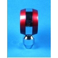 Quality Moderate Red / Black Racing Gear Knob , 5 Speed Gear Shifter Knobs for sale