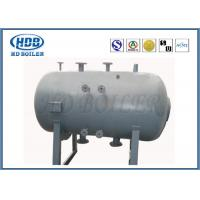 Quality Non Toxic Floor Standing Boiler Steam Drum For CFB Boiler Corrosion Resistance for sale