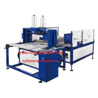 Quality CORRUGATED BUNDLE SQUARING +STRAPPING MACHINE Bundle turner for corrugated carton for sale