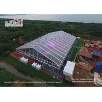 Buy cheap Transparent PVC Material  Outdoor Party Tents For 1500 People Concerts from wholesalers