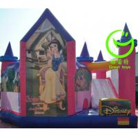 Quality 2016 hot sell  inflatable princess bouncy castle with 24months warranty for sale