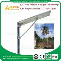 China China Supplier 12V 30W LED All in One Solar Street Light Price List on sale