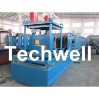 Quality Customized Steel Z Shaped Purlin / Z Channel Roll Forming Machine TW-Z300 for sale