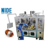 Quality Air conditioner automatic motor stator coil insertion winding machine , 4 working station for sale