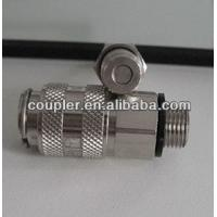 Quality Brass Nickel Plating Weld check quick connector for sale