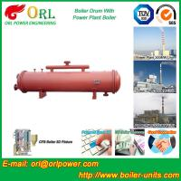 Quality Boiler Parts Coal Fired Boiler Steam Drum Corrosion Resistance For Industrial for sale