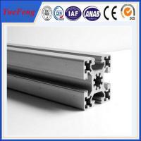 Quality OEM t-slot anodized aluminum extrusion supplier, all types of aluminium extrusion for sale