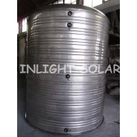 China Non Pressurized 300L Solar Thermal Storage Tank With Single Coil , Polyurethane Foam Insulting Layer on sale