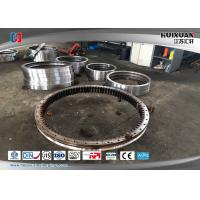 Quality Q345D 50Mn 42CrMo4 Alloy Steel Forgings Dia 9000MM Slewing Bearing for sale