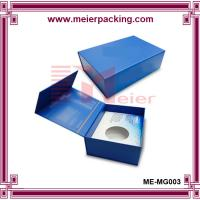 Quality Specialized Hi-Wall blue color coated paper gift box with magnetic closure for sale