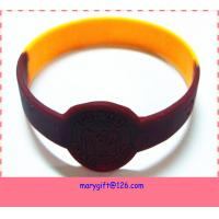 China cool promotion silicone bracelet with watch shape on sale