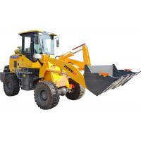 Quality Small Articulated Wheel Loader / Front End Wheel Loader With 1 Ton Rated Loading for sale