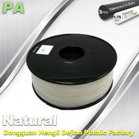 Quality Diameter Of 1.75mm And 3.0mm PA  Nylon 3D Printer Filament  Materials for sale