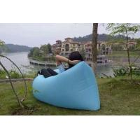 Quality Hot sell hangout sofa inflatable sleeping airbag  ,dont need pump,very easy to use for sale