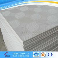 Quality PVC Laminated Gypsum Ceiling Tile/PVC Gypsum Ceiling Tile/Gypsum Ceiling Board/ Standard Gypaum Board for sale