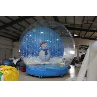 Quality 5M Giant Inflatable Snow Globe for sale