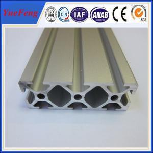Quality Hot! OEM 3m -6m aluminium alloy proifiel, hundreds of t slot aluminum extrusion supplier for sale