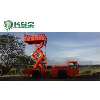 China Underground Service Vechicles 1 Ton Scissor Lift Truck for Underground Mining or Tunneling Project for sale