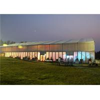 Quality Clear Span Wedding Party Tent  20m * 30m Bar Tension Double PVC Coated Cover for sale