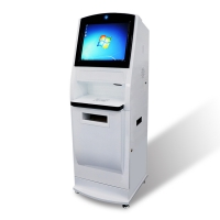 Quality 19inch Self Service A4 documents and photos Printing Scan Form Filling Printer Kiosk for sale