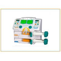 Portable Dual Channel Syringe Pump , One Key Operation Hospital Infusion Pumps