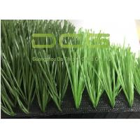 Quality Green Artificial Grass Football / Outdoor Synthetic Fake Turf Grass for sale