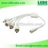 4 Way IP67 Waterproof DC Power Splitter Cable for sale