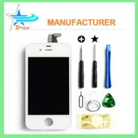 China For iPhone 4 Black LCD Display with Touch Digitizer Screen Glass Assembly on sale