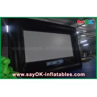 Quality 6 X 3.5m Pvc / Oxford Cloth Protable  Film Inflatable Movie Screen for Rental for sale