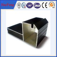 Quality cheap aluminum profiles factory, Black Anodized aluminium profile for furniture for sale