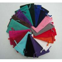 Quality velvet pouch for sale