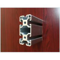Quality Industrial Structural T-slot Aluminum Profiles For Powder Coating Aluminium Purity 99.6% for sale