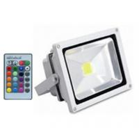 Quality high lumens AC100-240v ip65 outdoor 30w led rgb flood light rgb led floodlight with remote for sale